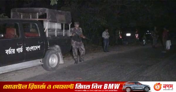 BGB operation in Satchhari National Park, 18 rocket shells captured